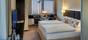 Park Inn Berlin Alexanderplatz Corner Room City View