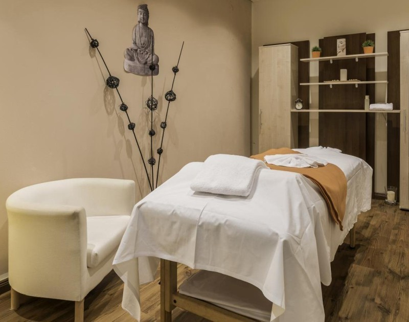 Massage room in the Park Inn Berlin Hotel